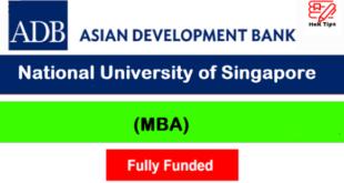 Fully Funded Asian Development Bank Scholarship