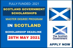 Scotland Government Scholarship