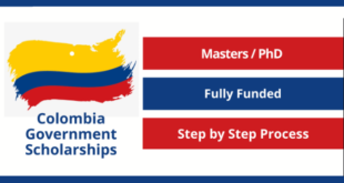 Colombia Government Scholarship