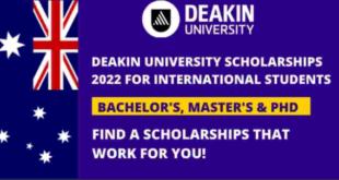 Deakin University Scholarship