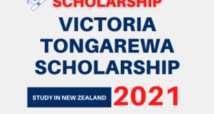 Victoria Tongarewa Scholarship