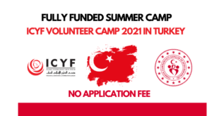 ICYF Young Volunteers Camp