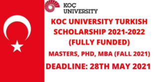 KOÇ University Scholarship