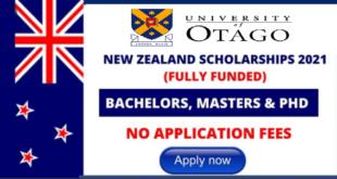University of Otago Scholarship