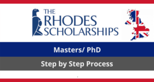 University of Oxford Rhodes Scholarship