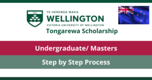 Wellington International Excellence Scholarship