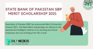 SBP Merit Scholarship
