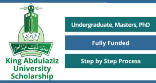 King Abdulaziz University Scholarship