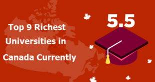 Top 9 Richest Universities in Canada Currently