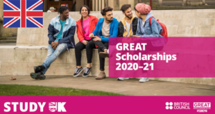 GREAT Scholarships for International Students in UK