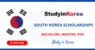How To Get South Korean Scholarship With Ease