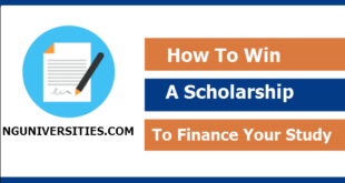 How To Win A Scholarship To Finance Your Study