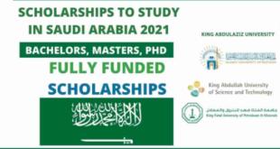 Scholarship in Saudi Arabia for International Students