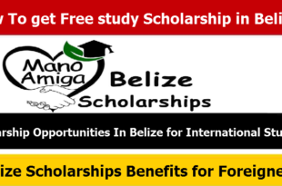 How To get Free study Scholarship in Belize