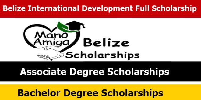 Belize International Development Full Scholarship