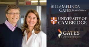 Gates Cambridge Scholarships in UK