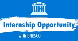 UNESCO Internship Programme 2021