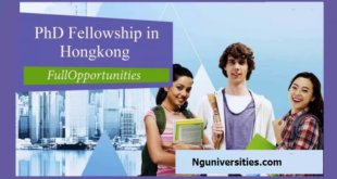 Government of Hong Kong Scholarship for International Students
