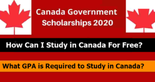 Canadian Government Scholarship