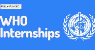 World Health Organization (WHO) Internship 2021