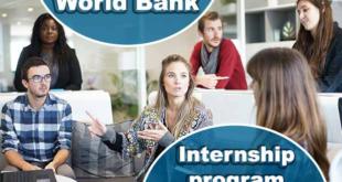 Funded World Bank Winter Internship 2022