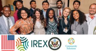 IREX Community Solutions Program in USA 2022